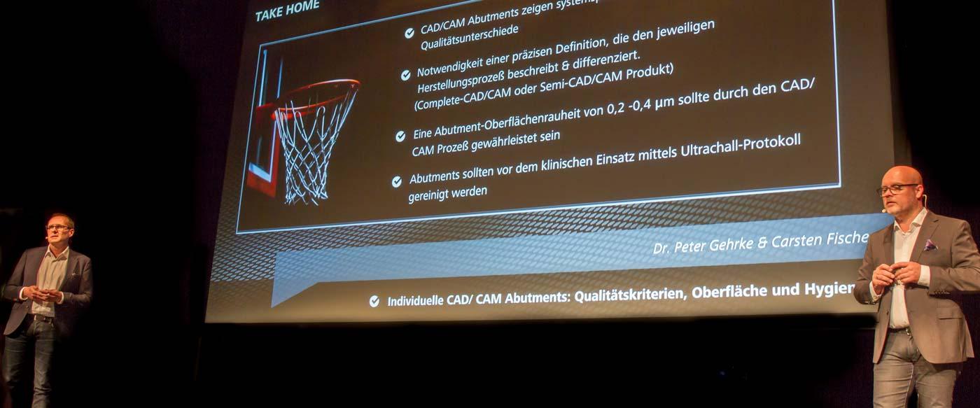 Vortrag über CAD/CAM-Abutments